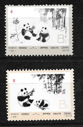 CHINE CHINA  CINA  N° 1870 Et 1871 **Y Et T -Pandas Animaux Animals.