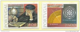 TIMBRES - STAMPS - PORTUGAL -1978 - 4e. CENTENAIRE DE LA MORTE DE PEDRO NUNES - SERIE TIMBRES NEUFS - MHN