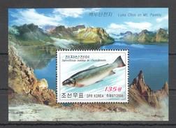 A49 2008 DPR KOREA FISH BL MNH
