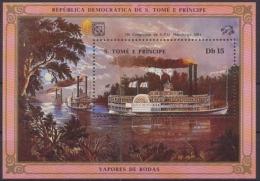Sao Tome + Principe, MiNr. Block 153, Postfrisch / MNH