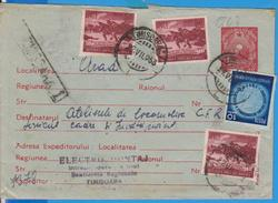 COAT OF ARMS STAMP ADVERTISING ROMANIA STATIONERY + STAMPS ART GRIGORESCU