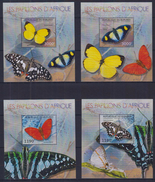 V31 Burundi - MNH - Insects - Butterflies - Deluxe - 2012