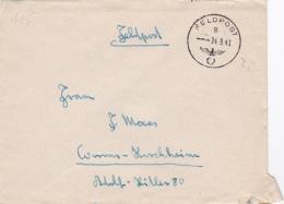 Feldpost WW2: From Boulogne In France - Reserve-Infanterie-Bataillon 467 (2. Kompanie)  FP 28958C P/m 24.9.1943 - Letter