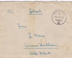 Feldpost WW2: From Mogilew - Grenadier-Regiment 487 (5./II)  FP 03636B P/m  23.11.1943 - Letter Inside  (T8A17)