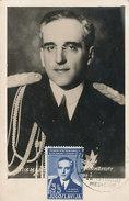 D28782 CARTE MAXIMUM CARD RR 1938 YUGOSLAVIA - KING ALEXANDER SPEC. POSTMARK CP ORIGINAL