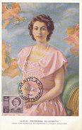 D28784 CARTE MAXIMUM CARD 1948 AUSTRALIA - PRINCESS ELIZABETH CP ORIGINAL