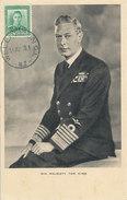 D28785 CARTE MAXIMUM CARD 1949 NEW ZEALAND - KING GEORGE VI CP ORIGINAL