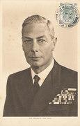 D28787 CARTE MAXIMUM CARD 1948 HONG KONG - KING GEORGE VI CP ORIGINAL