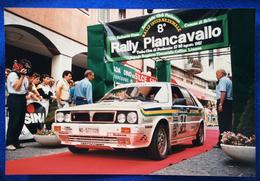 1987 8° RALLY INTERNAZIONALE PIANCAVALLO - 34  Zenere Gianmarino - Baruffa Albrecht  //  Lancia Delta HF 4WD - Corse Di Auto