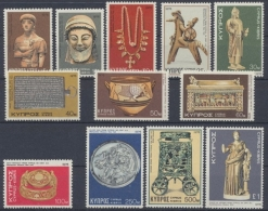 Zypern, Michel Nr. 442-453, Postfrisch / MNH