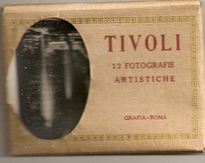 TIVOLI - ROME / LOT DE 12 MINI PHOTOS ANNEES 1940 - Riproduzioni
