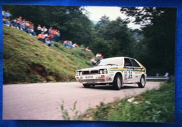 1987 8° RALLY INTERNAZIONALE PIANCAVALLO - 34 Zenere Gianmarino - Baruffa Albrecht / Lancia Delta HF 4WD - Corse Di Auto