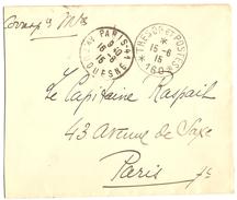 Lettre Franchise Militaire FM - Cachet Trésor Et Postes - Secteur Postal 160 étoile 6 - 15.06.1915
