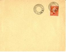 Lettre Franchise Militaire FM - Cachet Trésor Et Postes - Secteur Postal 160 étoile 5 - Sans Dateur