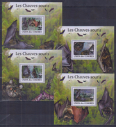 W31 Comoros - MNH - Animals - Bats - Deluxe - 2009 - WWF