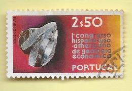 TIMBRES - STAMPS - PORTUGAL - 1971 - GÉOLOGIE ÉCONOMIQUE - TIMBRE OBLITÉRÉ