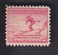 USA. 3e Jeux Olympiques à Lake Placid. 311