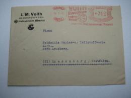 Firmen Freistempel , Meterstempel Auf Beleg Aus   1946 , Heidenheim