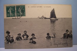 CAYEUX-sur-MER    --- La  Trempette - (  Baigneurs  ) - Cayeux Sur Mer