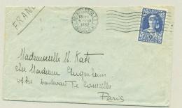 België - 1932 - 1,75 + 25c Tuberculose Bestrijding Kon. Elisabeth Als Verpleegster Van Brussel Naar Paris / France