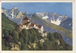 Castle VADUZ - LIECHTENSTEIN , Gel. 1965 - Liechtenstein