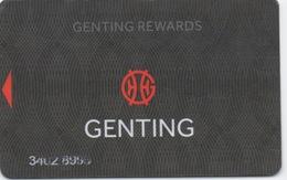 Carte De Membre Casino : Genting Rewards UK - Casino Cards