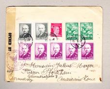 Türkei Aydin 20.5.1947 Zensurbrief (America) Nach Pforzheim Deutschland - 1921-... République