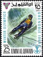 Umm Al-Qiwain 1968 - Grenoble Olympics : Bobsled ( Mi 234 - YT 75/2 )