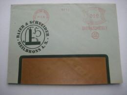 Firmen Freistempel , Meterstempel Auf Beleg Aus   Heilbronn   1932 ,  Etwas Verkürzt - Allemagne