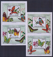 W31 Comoros - MNH - Insects - Butterflies - Deluxe - 2010