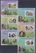 W31 Comoros - MNH - Insects - Butterflies - Deluxe - 2008