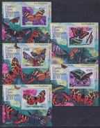 W31 Comoros - MNH - Insects - Butterflies - Deluxe - 2011