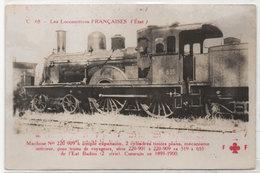 Les Locomotives Françaises (Etat) Machine N° 220 909 A Simple Expansion (95411) - Treni
