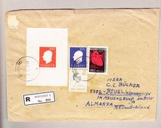 Türkei Bostanci 2.5.1972 Einschreibener Brief Nach Beuel Bei Bonn - 1921-... République