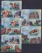 W31 Comoros - MNH - Animals - Birds - Deluxe - 2011