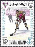 Umm Al-Qiwain 1968 - Grenoble Olympics : Ice Hockey ( Mi 237 - YT Pa 14.1 )