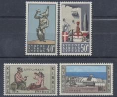 Zypern, MiNr. 243-246, Postfrisch / MNH