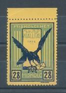 1934. First Stamp Exhibition In Miskolc Commemorative Sheet II. :) - Feuillets Souvenir
