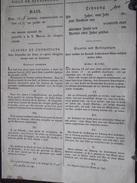 STRASBOURG (67) - BAIL Du 6 Octobre 1834 Pour CANTON De WACKEN, à M Meunier, Professeur De Médecine, M Belling, -A Voir! - Historische Dokumente