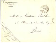 Lettre Franchise Militaire FM - Cachet Trésor Et Postes - Secteur Postal 161 étoile 5 - 16-10-1915
