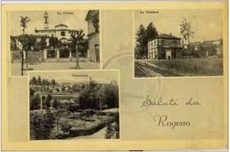 LECCO - SALUTI DA ROGENO STAZIONE - F.P. - Lecco