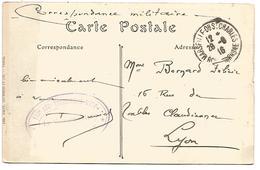 CACHET 113 EME REGIMENT TERRITORIAL 1916