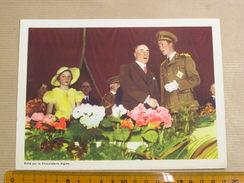 Chromo AIGLON N° 12 Photogravures SOUVERAINS ET PRINCES Belgique Roi Léopold 3 Famille Royale Chocolat Trading Card - Aiglon