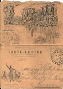 """FRANCE - Carte-Lettre """"Aux Armes Citoyens..."""" Du 19-6-1918 (en Tranchées à Quelques Pas De La Suisse) à ALLIANCIELLES"""