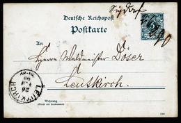 A4485) DR Karte Von Sigmaringendorf 26.2.90 Mit Handschr. Entwertung - Deutschland