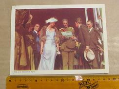 Chromo AIGLON N° 7 Photogravure SOUVERAINS ET PRINCES Belgique Roi Léopold 3 Famille Royale Chocolat Trading Card - Aiglon