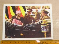 Chromo AIGLON N° 6 Photogravure SOUVERAINS ET PRINCES Belgique Roi Léopold 3 Famille Royale Chocolat Trading Card - Aiglon