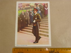 Chromo AIGLON N° 16 Photogravure SOUVERAINS ET PRINCES Belgique Roi Léopold 3 Famille Royale Chocolat Trading Card - Aiglon