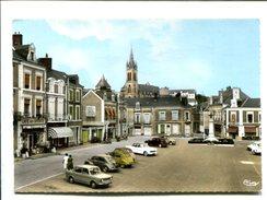 CP - SILLE LE GUILLAUME      (72) PLACE DE LA REPUBLIQUE - Sille Le Guillaume