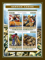 NIGER 2016 ** Service Dogs Hunde Chiens M/S - OFFICIAL ISSUE - A1707